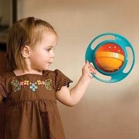Тарелка непроливайка-неваляшка gyro bowl (гиро боул)