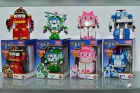 Робокары Поли (Poli) в коробках все 4 герои