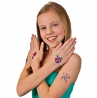 Набор для нанесения блестящей татуировки shimmer