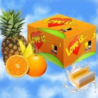 Жвачка Love is апельсин+ ананас