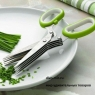 Ножницы для нарезки зелени с 5 лезвиями
