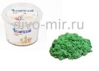 Космический песок 0.5 кг Зелёный