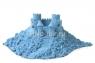 Космический песок 3 кг. Песочница+Формочки Голубой (коробка)