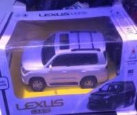 Lexus LX S70 1:16 на пульте управления