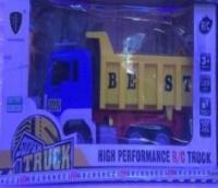 Большой грузовик Best  на пульте управления на батарейках (коробка 45 см)