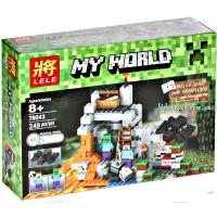 Конструктор Майнкрафт Пещера (Minecraft 79043) 249 шт